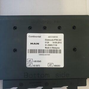 Calculator PTM MAN cod 81258057116