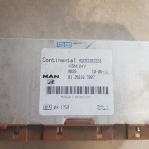 Calculator KSM MAN TGX/TGS cod 81258167007