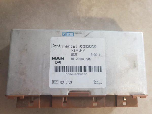 Calculator KSM Man TGX cod 81258167007