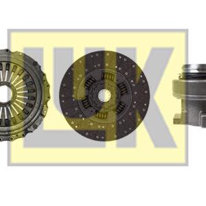 Kit ambreiaj complet cu furca MAN TGA,TGS,TGX cutie automata|D23T
