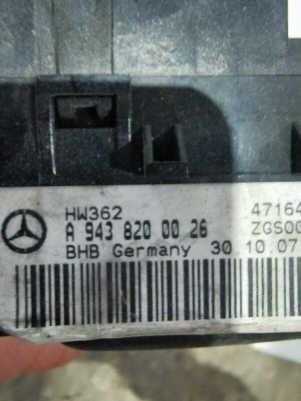 Ansamblu Control Încălzire Și Ventilație Mercedes-Benz Actros MP 3 A0004464528