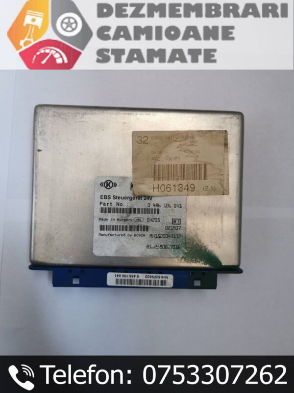 81258087016 Calculator EBS MAN TGX
